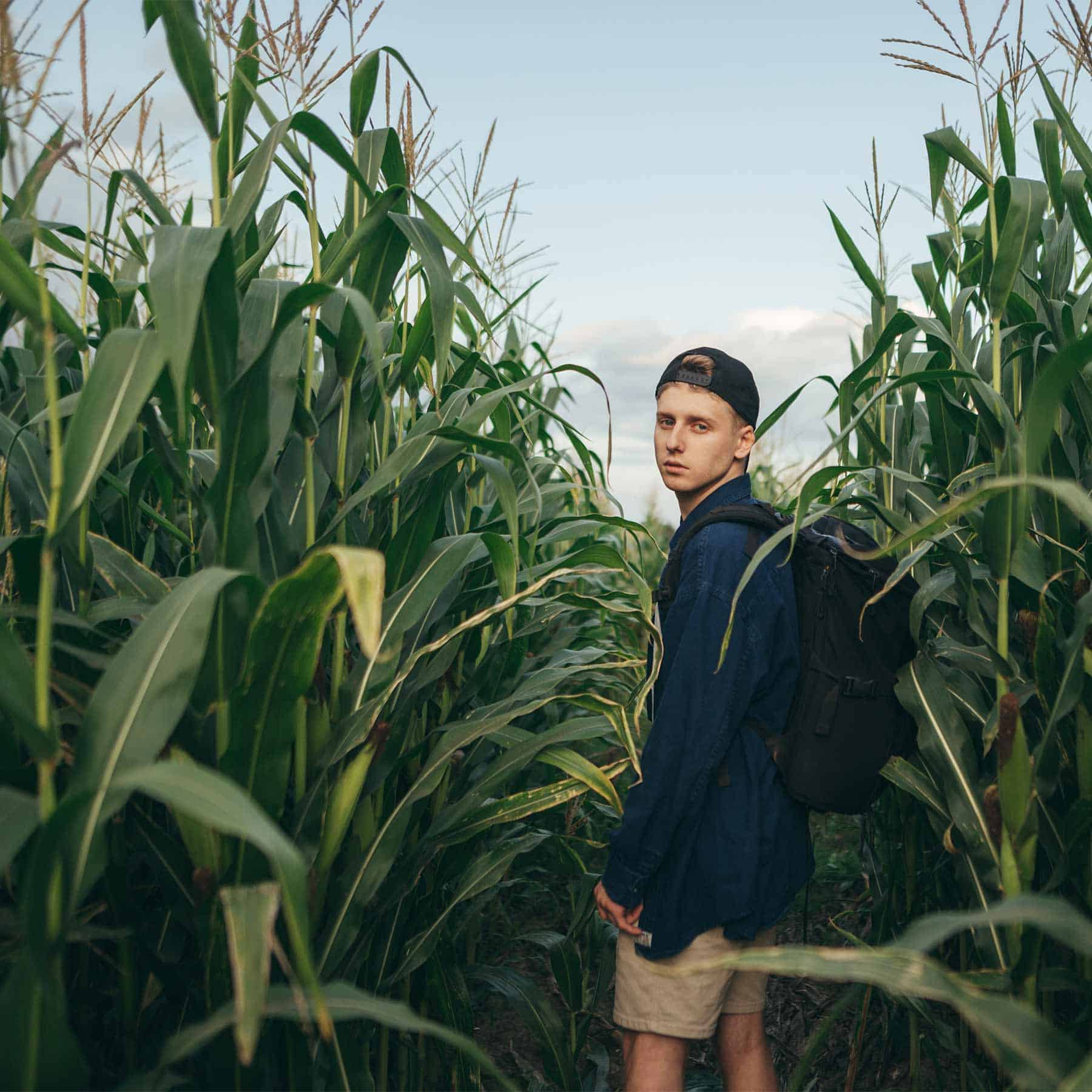 ASafePlace TeenageBoy Backpack RuralOutdoors