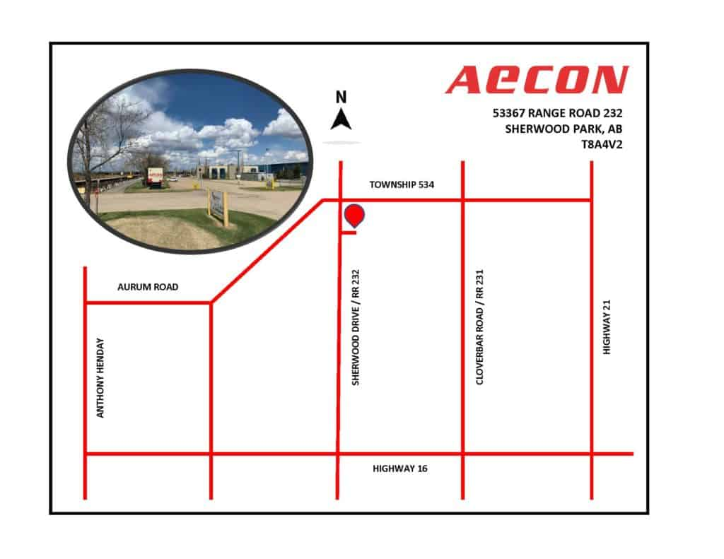 Aecon Sherwood Park Map 13MAY21